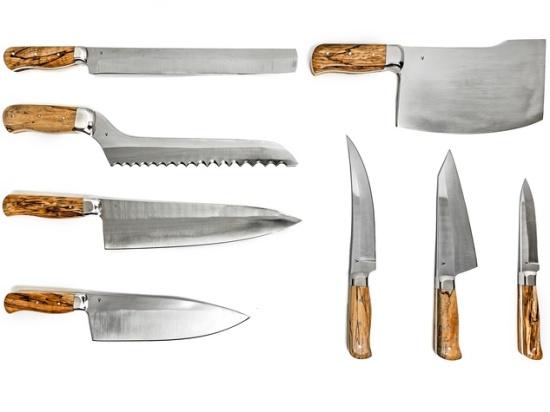 Vaudeville Chef Jordan Muraglia Knives